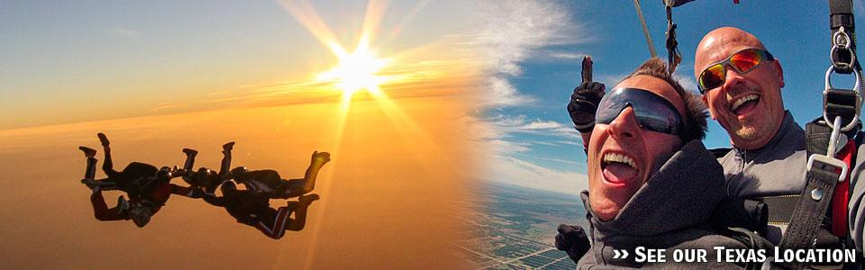 Skydive Spaceland-Florida skydivers