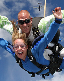 Tandem skydiving prices