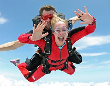 Skydive Spaceland Tandem Freefall Skydive