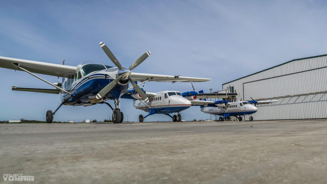 Our Super Caravan and Super Twin Otters lift you to altitude... super fast!