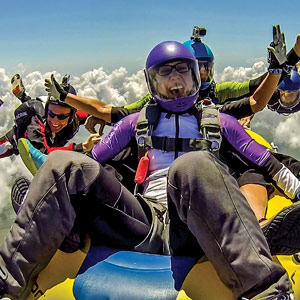 Experienced Skydiver Fun