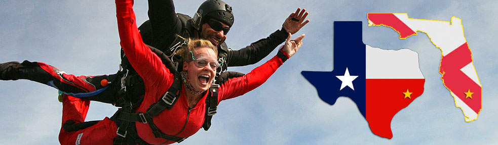 Skydive Spaceland: Houston, Texas and South Florida locations