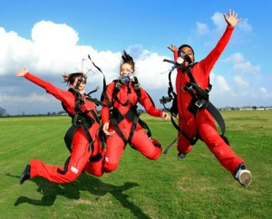 Skydiving group