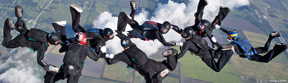 8-way skydive