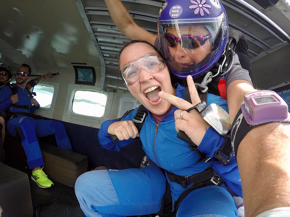 Loving life at Skydive Spaceland!