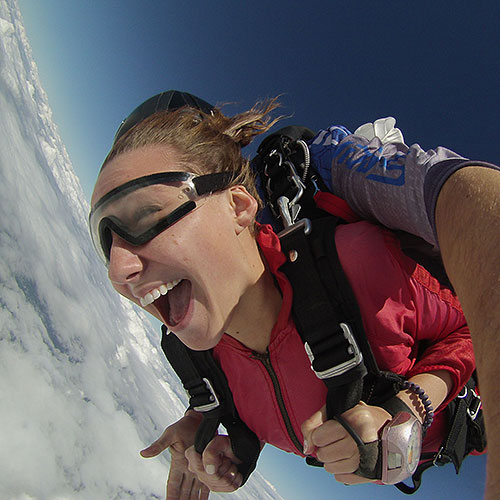 Spaceland Selfie First-Skydive Special!